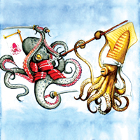 battle of the cephalopods